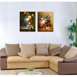Different Vivid Pretty Flowers Film Art Wall Print