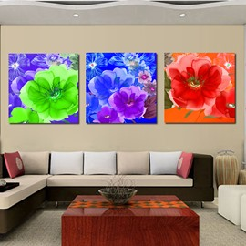 Adorable Blooming Flowers Film Art Wall Print