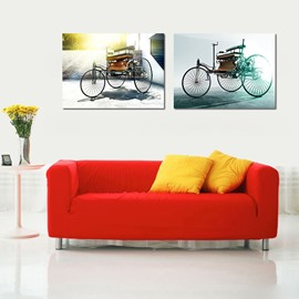 New Arrival Top Selling 2-Pieces of Crystal Film Art Wall Print