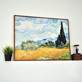 Modern Replica Art Van Gogh Oil Painting 1-Panel Framed Wall Art Print