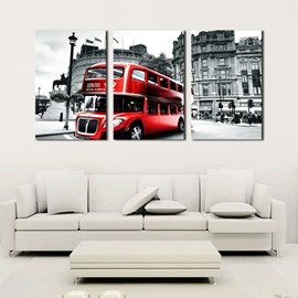 11.8*17.7in*3 Pieces Gray Car Hanging Canvas Waterproof And Eco-friendly Wall Prints