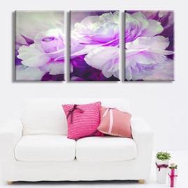 11.8*17.7in*3 Pieces Dreamful Flower Hanging Canvas Waterproof And Eco-friendly Wall Prints