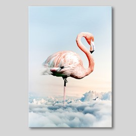 Nordic Style Flamingo Spray Painting Modern Print Wall Decorations Non-Framed Prints