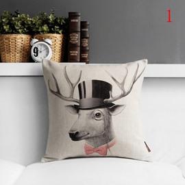 New Arrival Fancy Lovely Animal Print Pillowcase