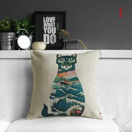 Fancy Cute Colorful Animal Print Pillowcase