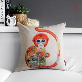 New Arrival Fantastic Colorful Animal Print Pillowcase