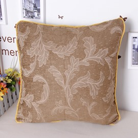 European Elegant Noble Style Jacquard Chenille Throw Pillowcase