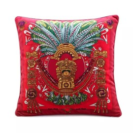 National Characteristic Egyptian Pharaoh Paint Throw Pillow
