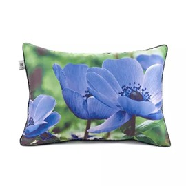 Dainty Violets Paint Throw Pillow