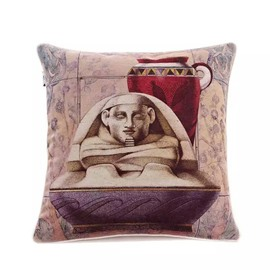 Egyptian Mummies Paint Throw Pillow
