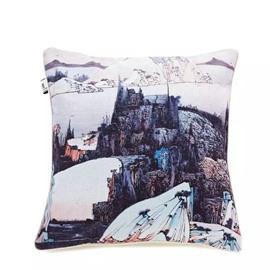 Beautiful Nature Scenery Paint Throw Pillow