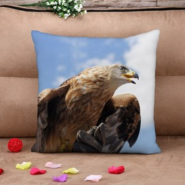 Tercel and Sky Dignified Cotton Throw Pillow Case