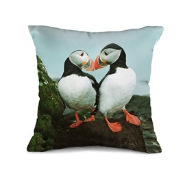 Heart-Warming Toucan Couples 3D Print Throw Pillow Case