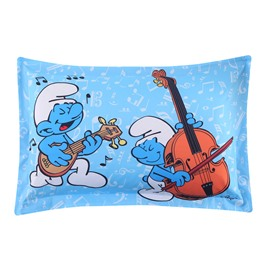 Harmony Smurf Music Concert One Piece Bed Pillowcase