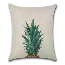 Plant Pattern Reactive Printing Technics Hand Wash Pillow Case