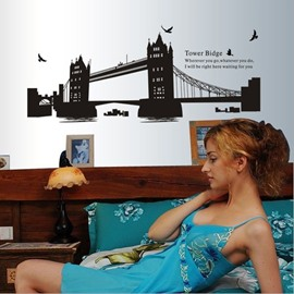 New Arrival Grand Tower Bridge Wall Stickers