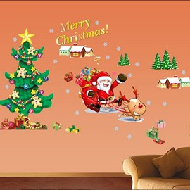 New Arrival Merry Christmas Wall Stickers