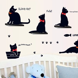 New Arrival Lovely Cat Print Wall Stickers
