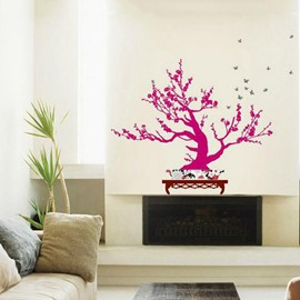 New Style Fantastic Plum Blossom Wall Stickers