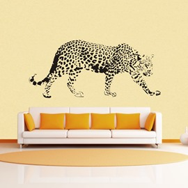 Majestic Snow Leopard Print Removable Wall Sticker
