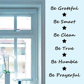 Inspirational English Words and Letters Removable Wall Sticker