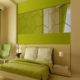 Amazing Acrylic Mirror Geometry Pattern Decoration Wall Stickers