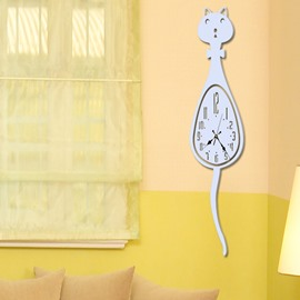 New Cute Cat Acrylic Decorative Wall Stickers