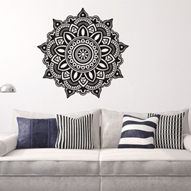 Creative Mandala Pattern Removable Waterproof Home Decor Wall Sticker