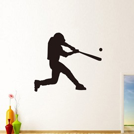 Removable baseball Wall Stickers for School, Work and Household