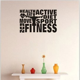 DIY Reusable Erasable Modern PVC Wall Sticker for Home and Office