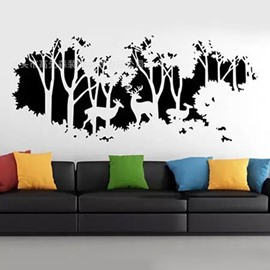 DIY Reusable Wall Stickers for Living Room Bedroom