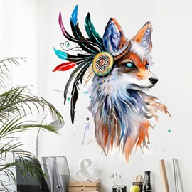 Wolf Wall Decals Decorative wall sticker
