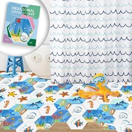 Aquarium Cartoon 10pcs Underwater World Eco-friendly PVC Waterproof Wall / Floor Stickers