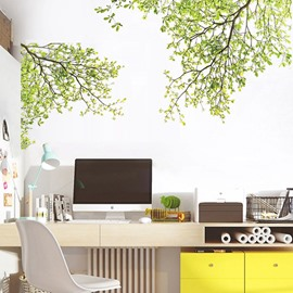 Pastoral Tree PVC Wall Sticker Bedroom Living Room Background Home Decor