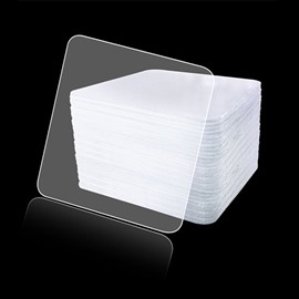 Washable Adhesive Tape Traceless Clear Double Sided Anti-Slip Removable Sticky Transparent Strips Grip for Glass Metal Kitchen Cabinets