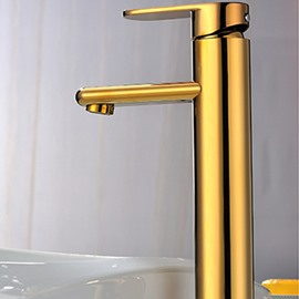 New Arrival High Quality Hightening Gold Bathroom Sink Faucet