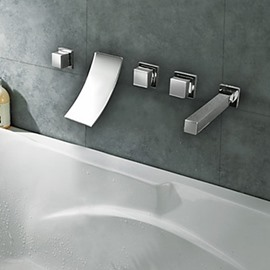 Smith Spa Style Bathtub With Waterfall Feature