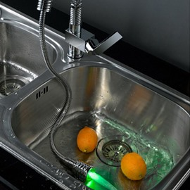 Popular Fantastic Temperature Control Colorful LED Kitchen Faucet