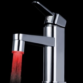 Unique Three Color faucet changing color by temperature for kitchen/Bathroom