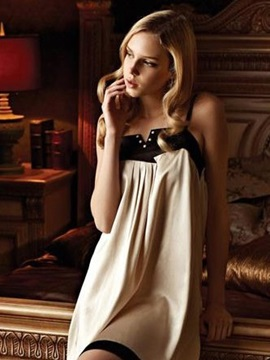 New Arrival Beautiful Braces Mulberry Silk Chemise