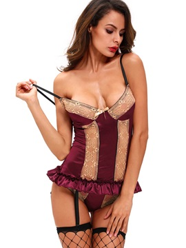 Sexy Harness Type Tight Temptation Lace Attractive Chemises
