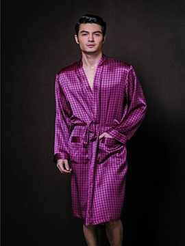 High Quality Comfortable and Soft Skincare Male Bathrobe