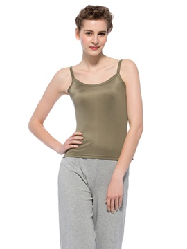 Top Quality Stylish Bronze Edged Silk Camisoles