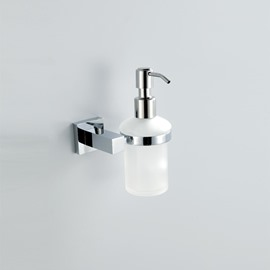 Amazing Chrome Finish Holder Soap Dispenser