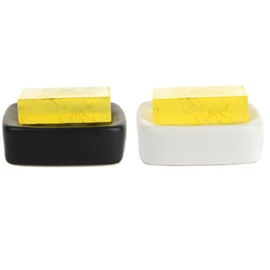 High Quality Fashion Rectangle Design Ceramic Soap Box