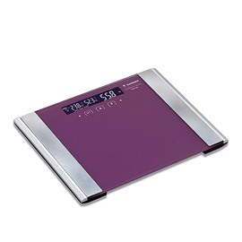 Fashion Graceful Purple Tempered Glass Weight Scale