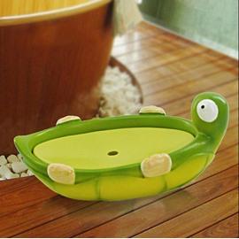 Adorable Creative Tortoise Style Resin Soap Box
