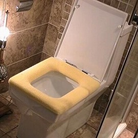 Cozy Thicken Square General Toilet Seat Cover