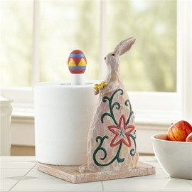 Cute Rabbit Image Cartoon Toilet Paper Holder