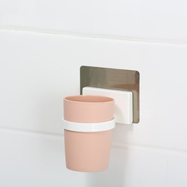 High Quality Concise Marcaroon Color Wall Toothbrush Mounted Cup